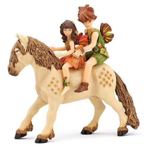 Papo Elf Children & Pony