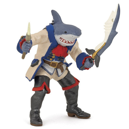 Papo Mutant Shark Pirate