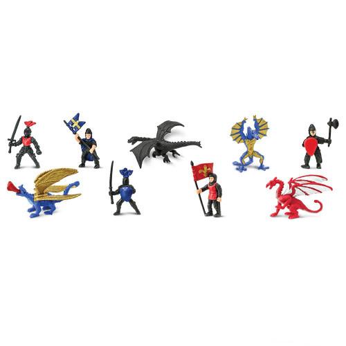 Safari Ltd Knights & Dragons 2 Toob