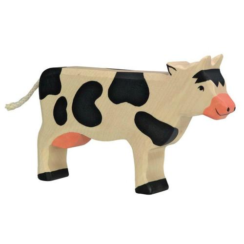 Cow Black Holztiger