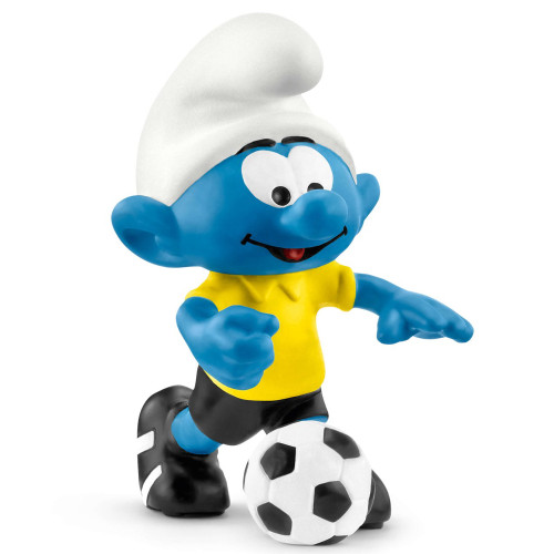 Schleich Soccer Smurf with Ball