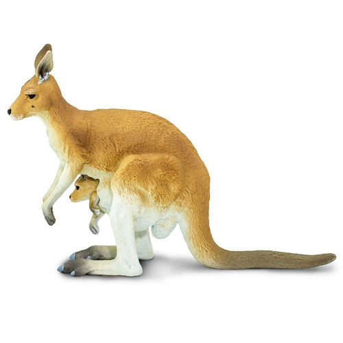 Safari Ltd Kangaroo with Joey