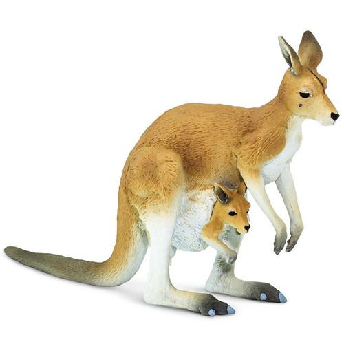 Safari Ltd Kangaroo with Joey
