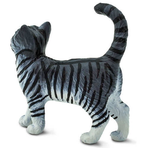 Safari Ltd Grey Tabby Cat