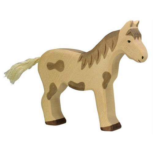 Horse Dappled Holztiger