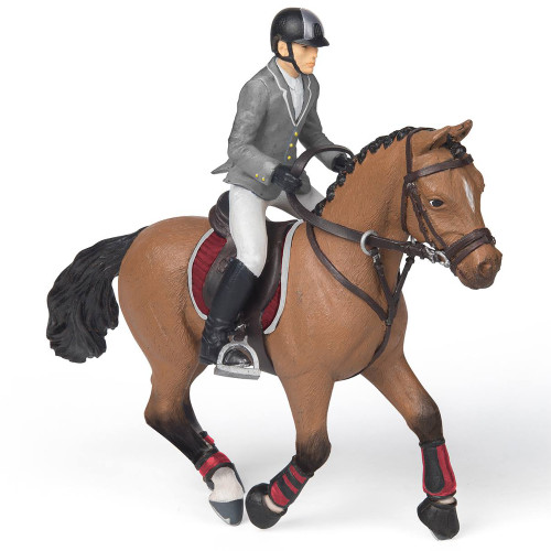 Papo Competition Horse with Rider