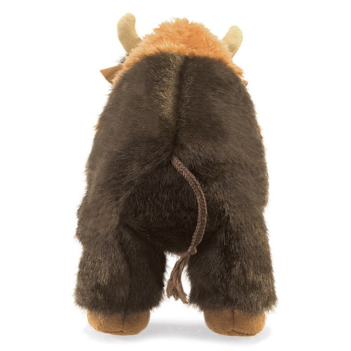 Folkmanis Bison Small Puppet