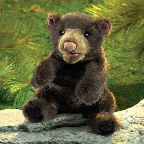 Black Bear Small Puppet