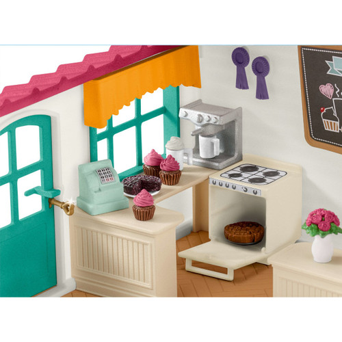 Schleich Horse Club Rider Cafe kitchen