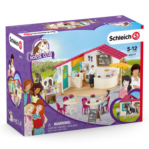 Schleich Horse Club Rider Cafe packaging
