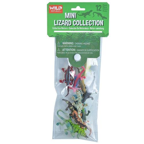 Wild Republic Mini Polybag Lizards