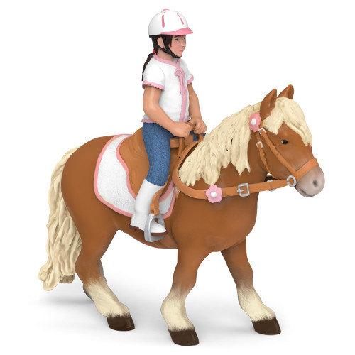 Papo Shetland Pony with Saddle