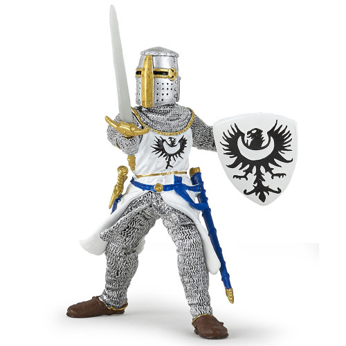 Papo White Knight with Sword