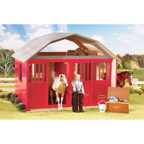 Breyer Red Two Stall Barn