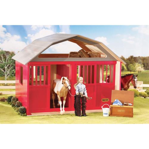 Breyer Red Two Stall Barn