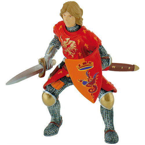 Prince with Sword Red