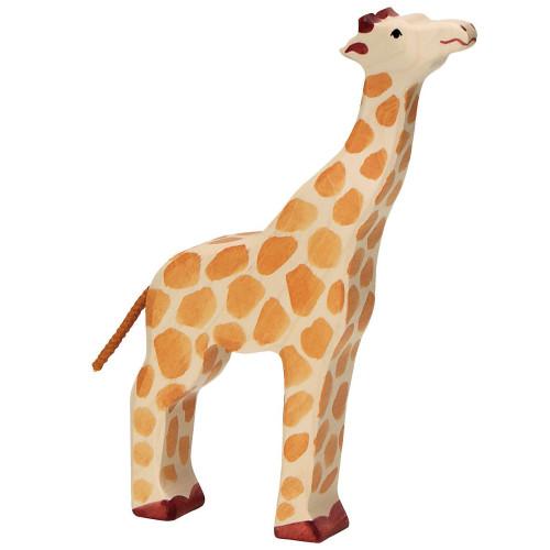 Giraffe Head Raised