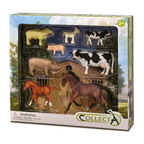 CollectA Farm Life Gift Set 8pc