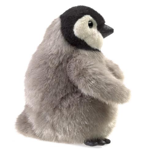 Folkmanis Emperor Penguin Baby Puppet