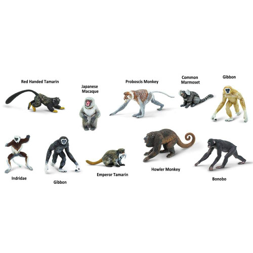 Safari Ltd Primates Toob