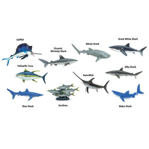 Safari Ltd Pelagic Fish Toob