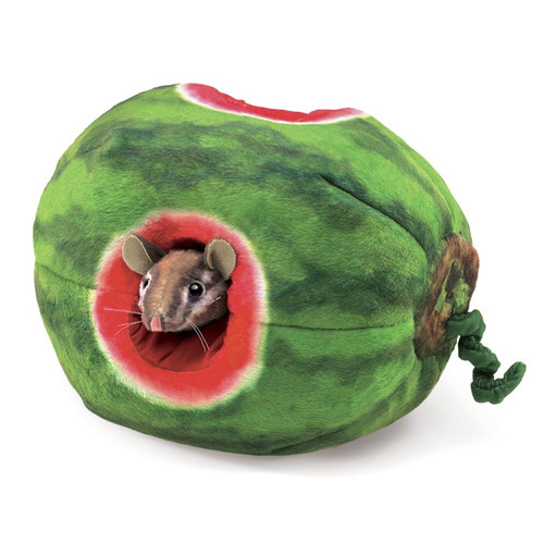 Chipmunk in Watermelon Puppet