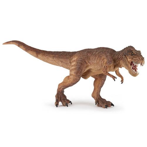 Papo T-Rex Running Brown