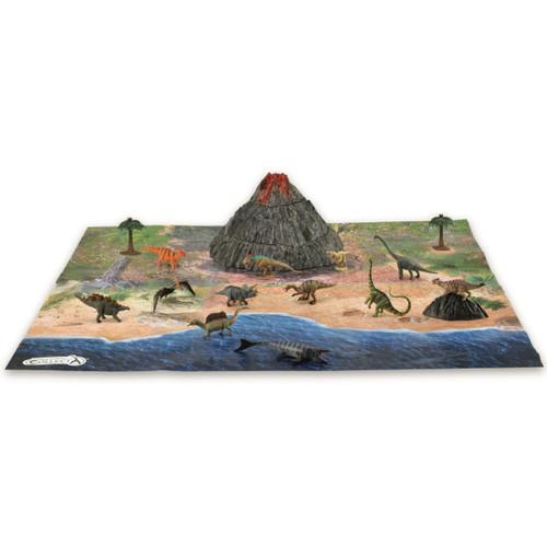 CollectA AR Mini Dinosaurs Playset