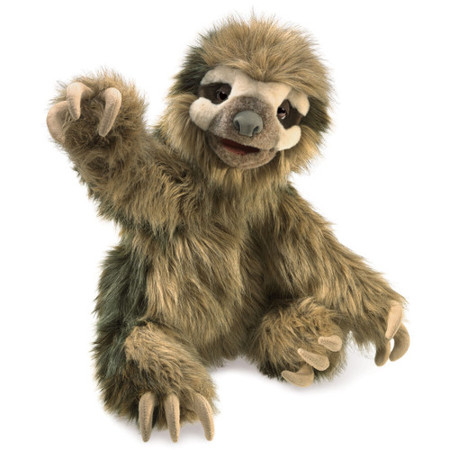 Three Toed Sloth Puppet