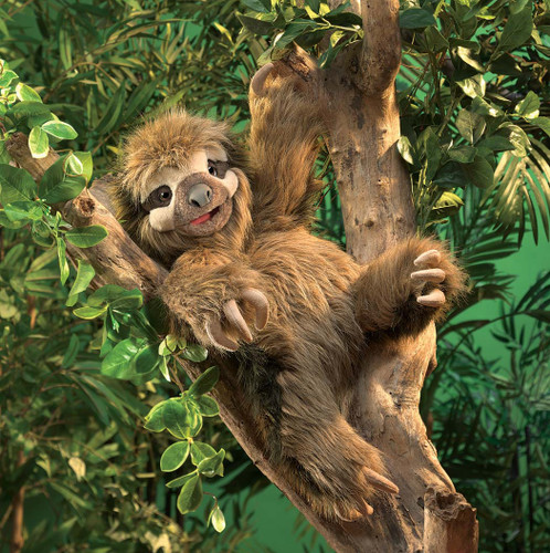 Folkmanis Three Toed Sloth Puppet