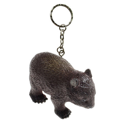 Science and Nature Wombat Keychain