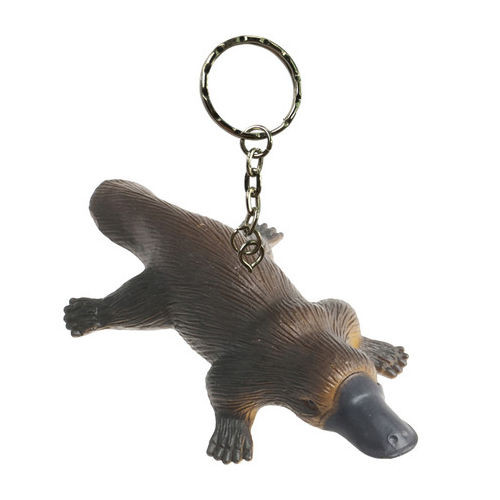 Science and Nature Platypus Keychain