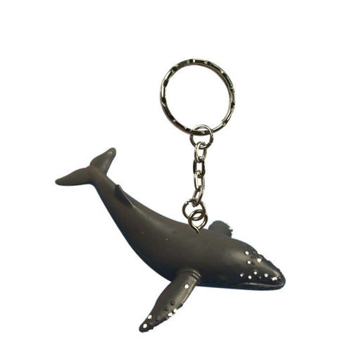 Science and Nature Humpback Whale Keychain
