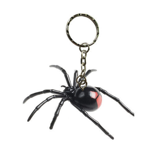 Science and Nature Redback Spider Keychain