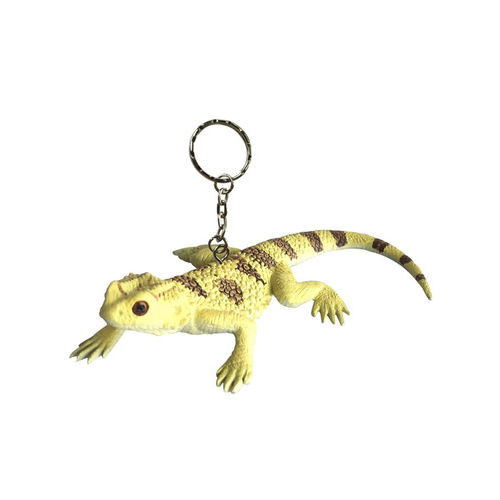 Science and Nature Bearded Dragon Keychain
