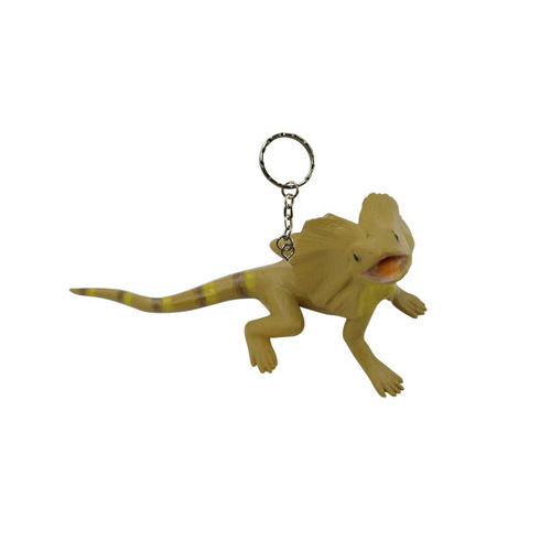 Science and Nature Frilled Lizard Keychain