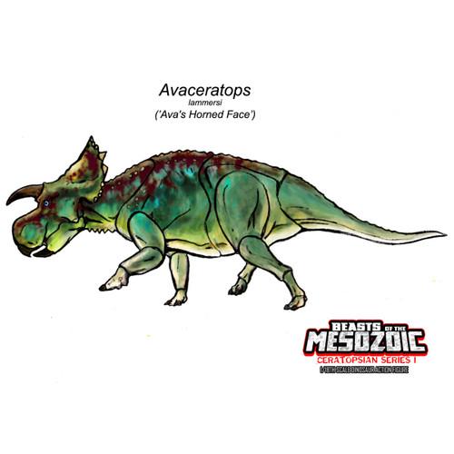 CB Avaceratops concept art