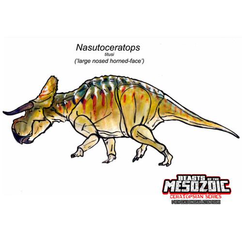CB Nasutoceratops concept art