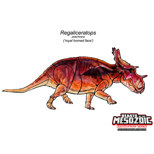 CB Regaliceratops concept art