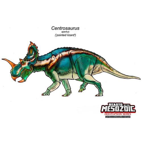 Creative Beasts Centrosaurus concept art