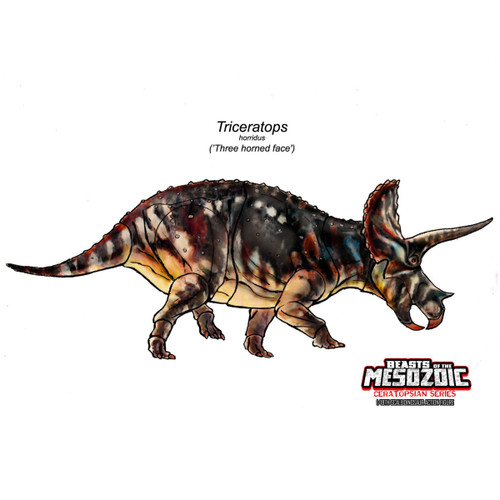 Creative Beasts Triceratops concept art