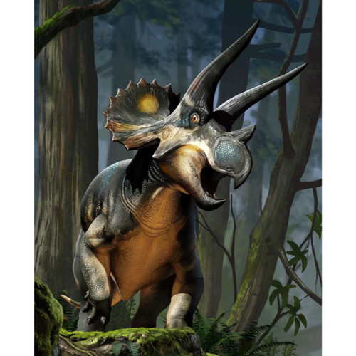 Creative Beasts Triceratops package art