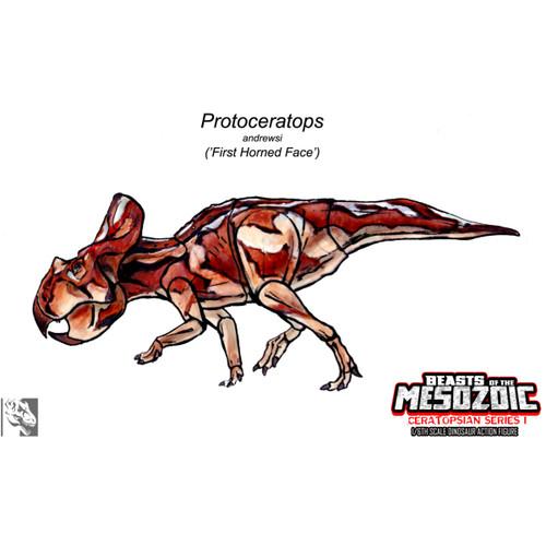 Creative Beasts Protoceratops concept art