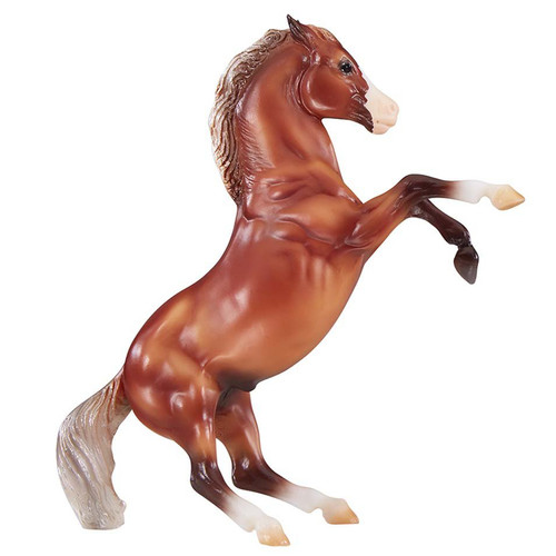 Breyer Silver Bay Mustang model horse rearing classic size