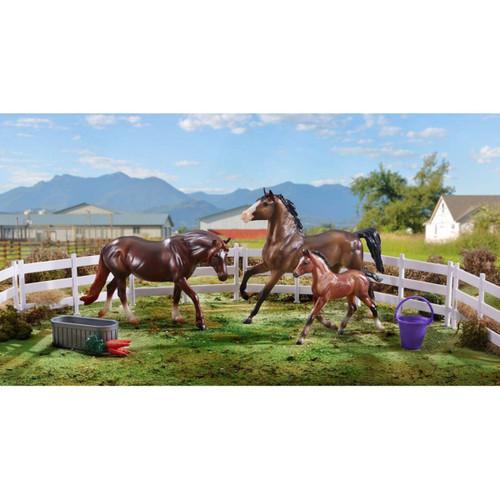 Breyer Pony Power set with 3 welsh pony models classic size