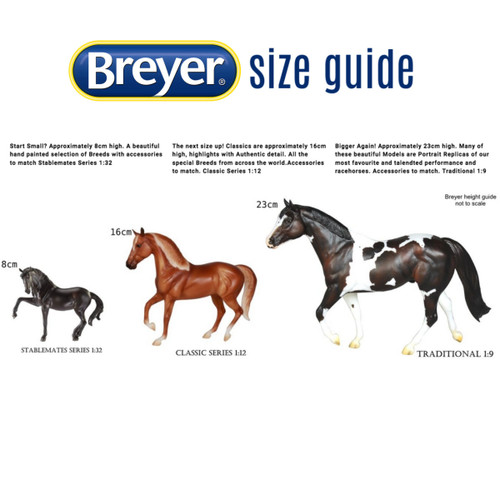 Breyer Size Guide: Stablemates, Classics & Traditional sizes