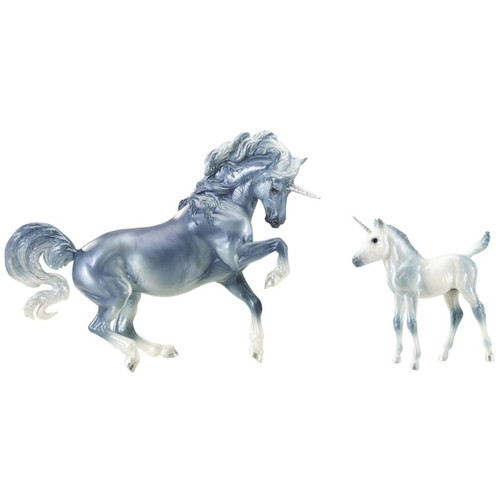 Breyer Cascade & Caspian model horses traditional size