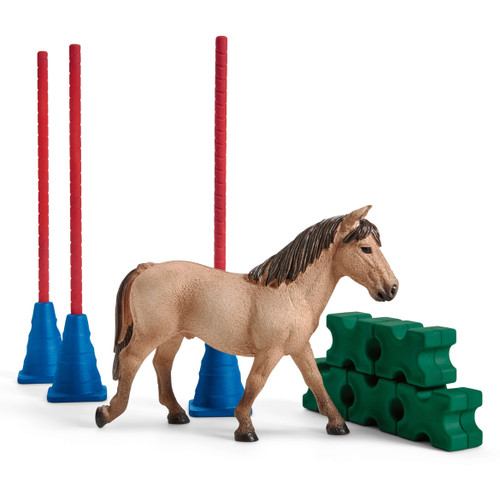 Schleich Pony Slalom set