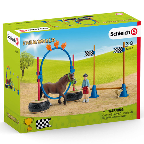 Schleich Pony Agility Race packaging