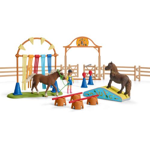 Schleich Pony Agility Training set